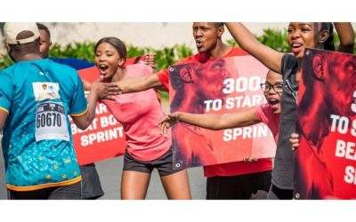 PUMA's Beat Bolt Sprint goes virtual at the FNB Run Your City Series Heritage Day Virtual Run