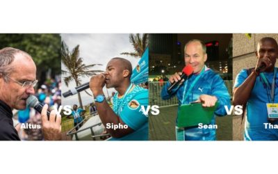 Commentators ready to battle at FNB Run Your City Series Heritage Day Virtual Run