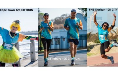 Runners unite nationwide at the FNB Run Your City Series Heritage Day Virtual Run