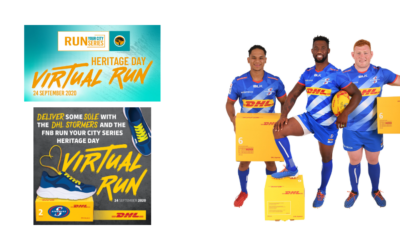 """DHL Stormers proudly back DHL's """"shoe drive"""" in support of FNB Run Your City Series Charities"""