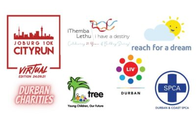 Take on the JOBURG 10K CITYRUN Virtual Edition in support of Durban's charities!