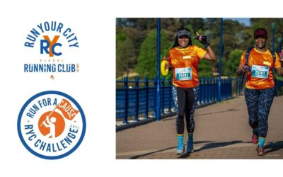 Turn your miles into smiles by taking on the RYC Series RUN FOR A CAUSE Challenge!