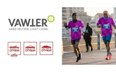 RUN YOUR CITY Series welcomes Vawter Hard Seltzer as a partner!